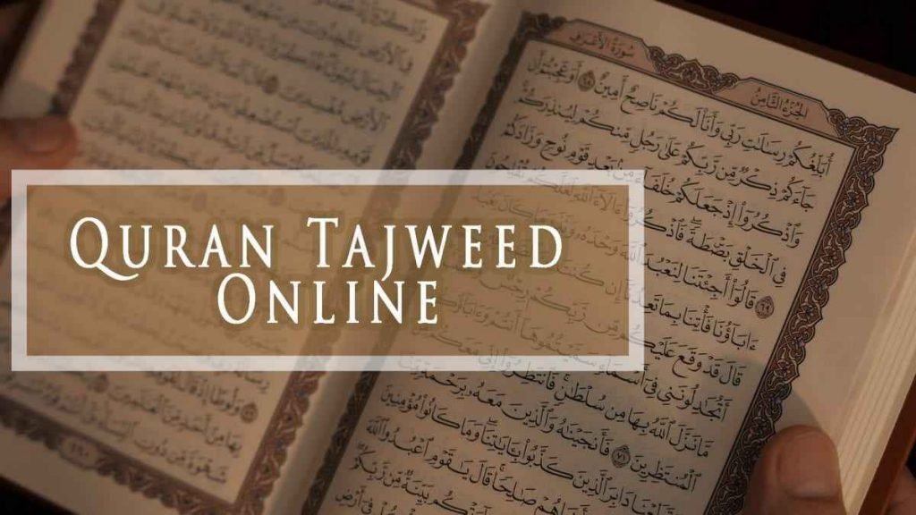 Online Learn Quran With tajweed